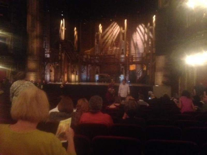 Seating view for PrivateBank Theatre Section Orchestra R Row R Seat 10,12,14
