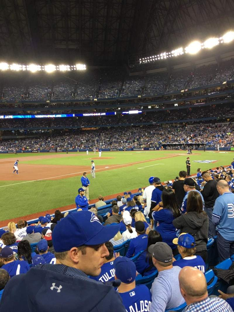 Seating view for Rogers Centre Section 130AR Row 12 Seat 9
