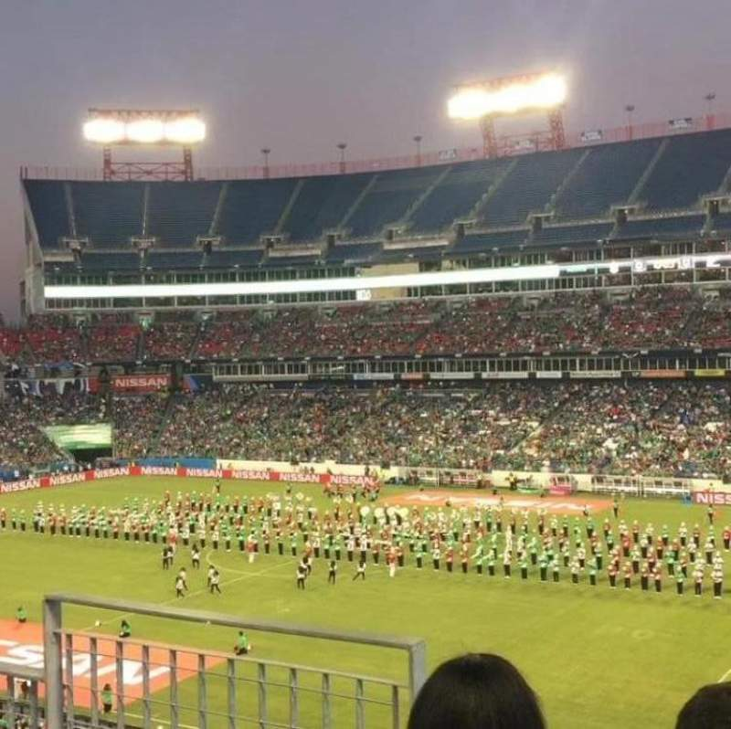 Seating view for Nissan Stadium Section 231 Row C Seat 10
