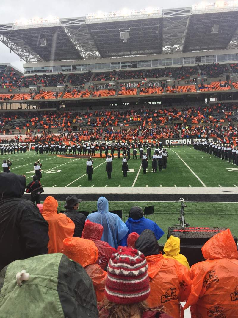 Reser stadium section 12 row 8 seat 23 oregon state for Restaurant seating chart app