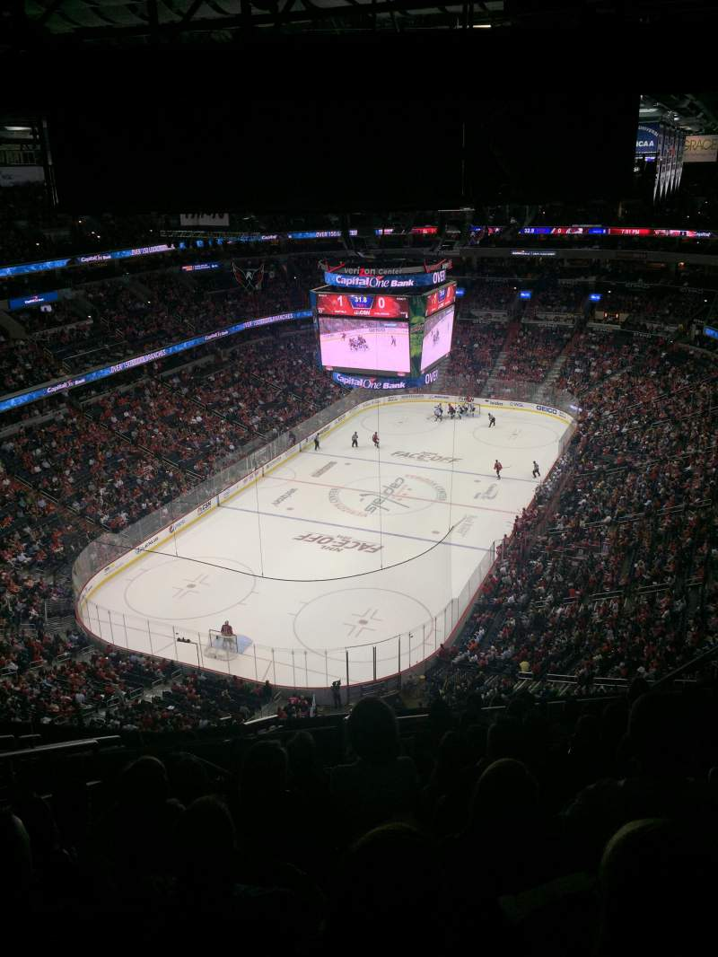 Seating view for Verizon Center Section 428 Row P