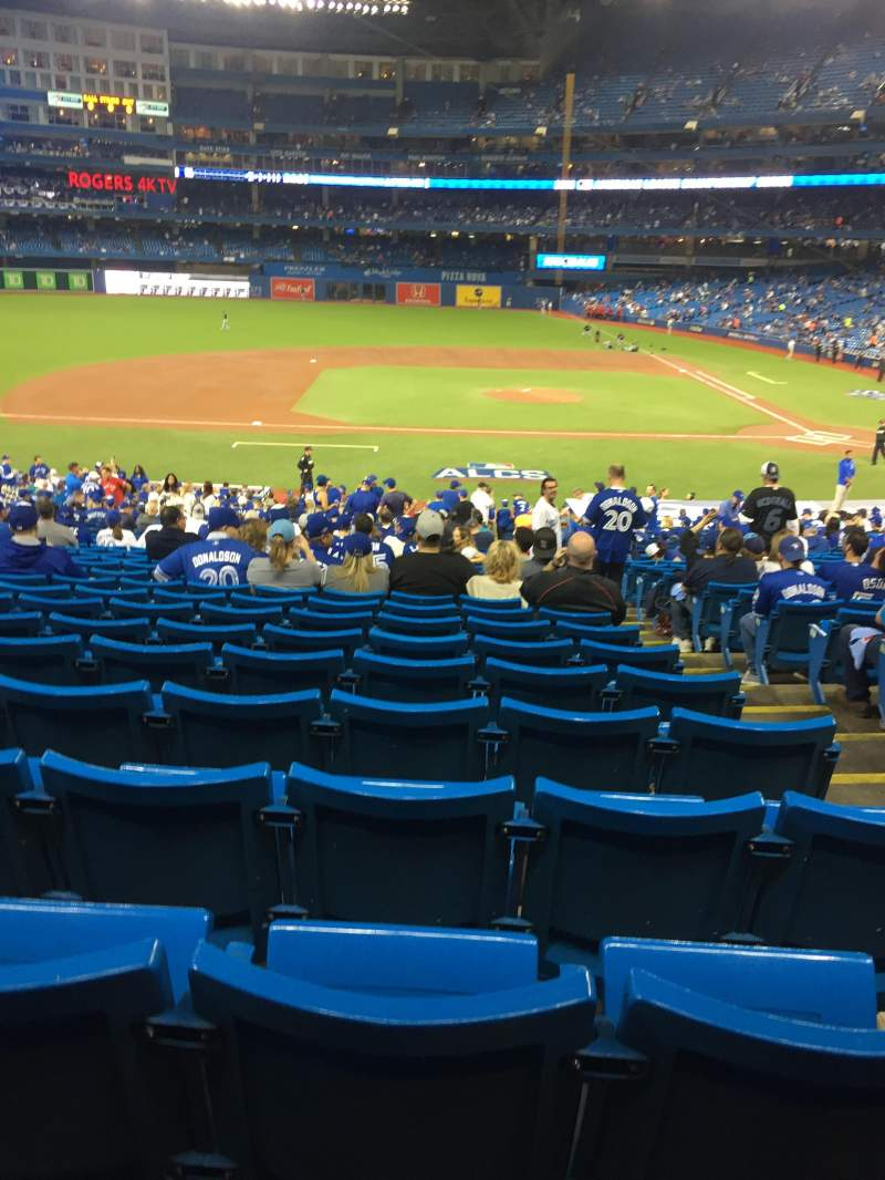 Seating view for Rogers Centre Section 126R Row 39 Seat 3