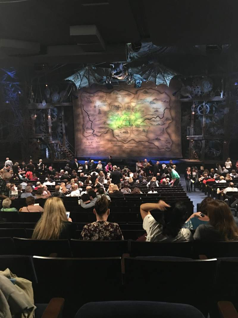 Gershwin Theatre Section Orchestra Row X Seat 117 Wicked