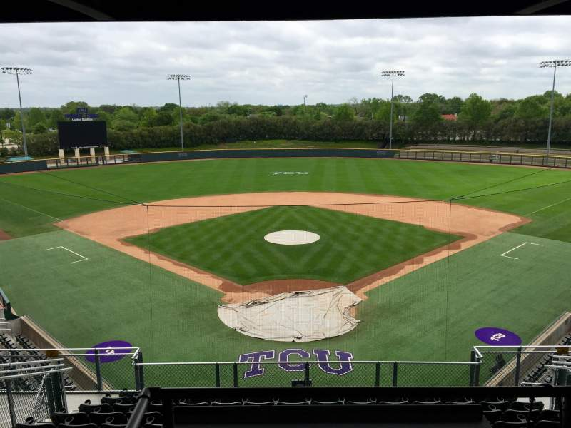 Seating view for Lupton Stadium Section 204