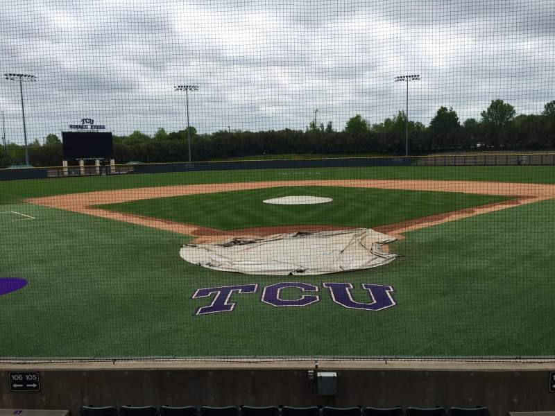 Seating view for Lupton Stadium Section 105