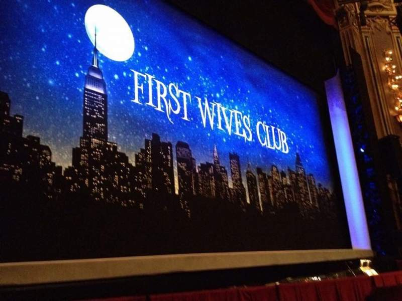 Seating view for James M. Nederlander Theatre Section Orchestra R Row D Seat 8