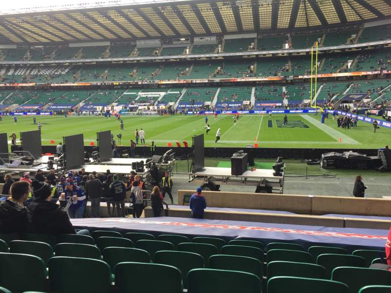 Seating view for Twickenham Stadium Section L21 Row 20 Seat 106