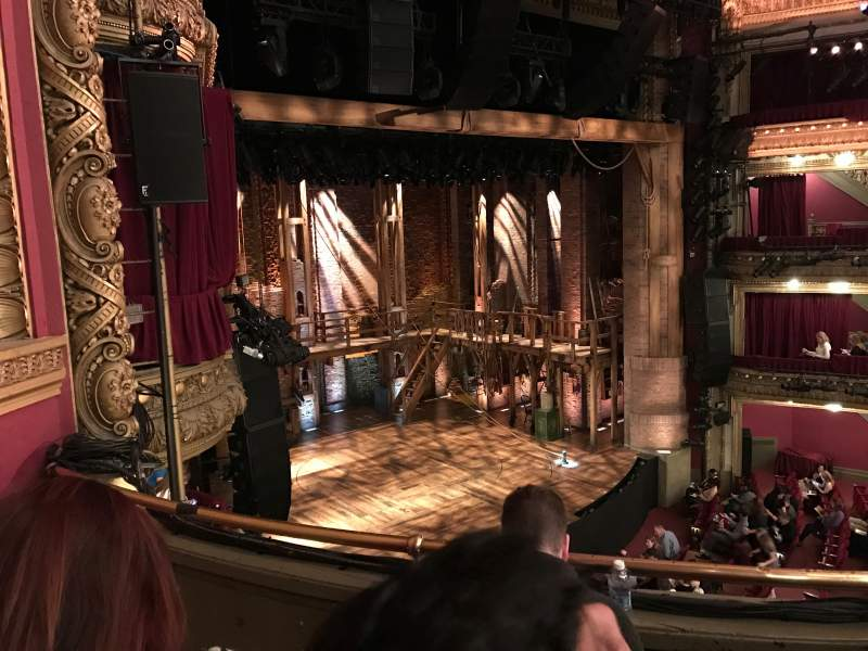 Seating view for CIBC Theatre Section Mezzanine L Row C Seat 17