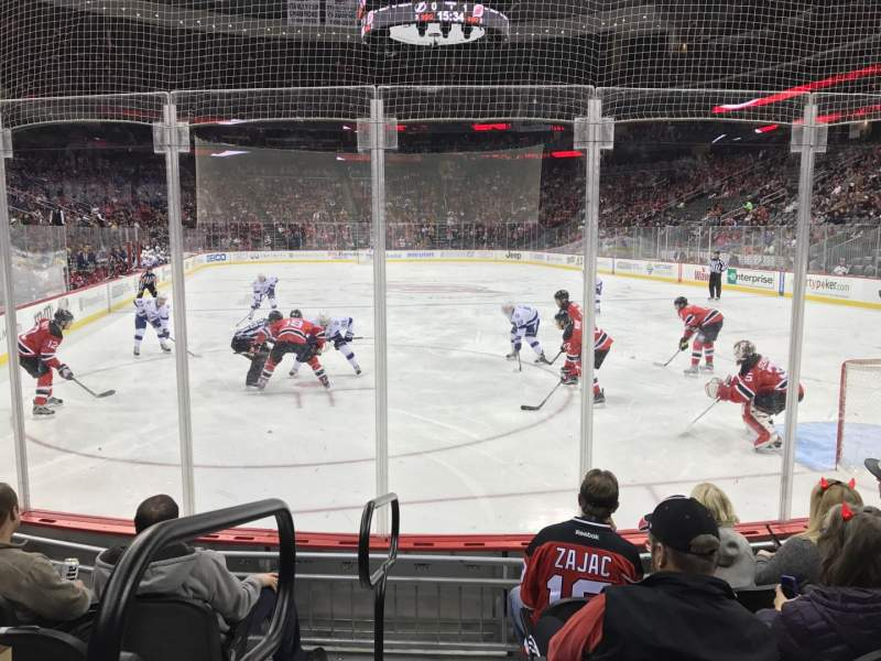 Seating view for Prudential Center Section 13 Row 5 Seat 12