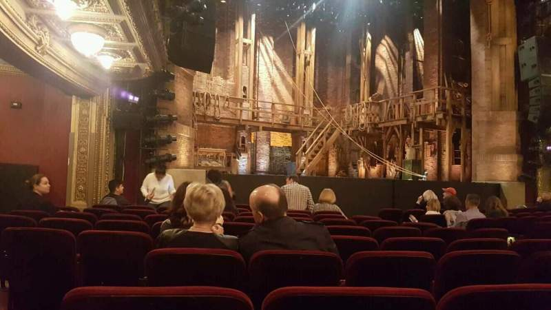 Seating view for CIBC Theatre Section Orchestra L Row L Seat 21