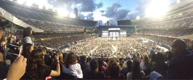 Soldier Field, section: 222, row: 15
