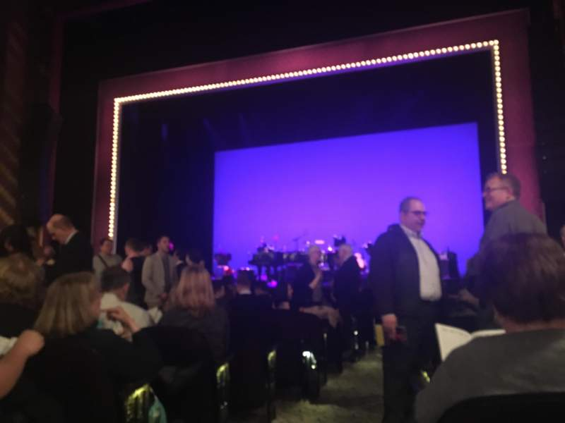 Seating view for Lunt-Fontanne Theatre Section Orchestra Row N Seat 2
