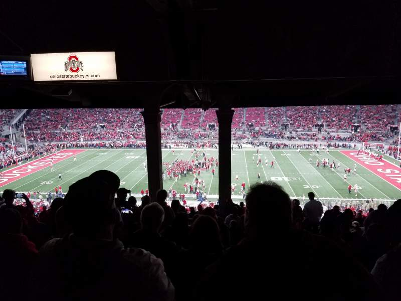 Seating view for Ohio Stadium Section 18B Row 14 Seat 25