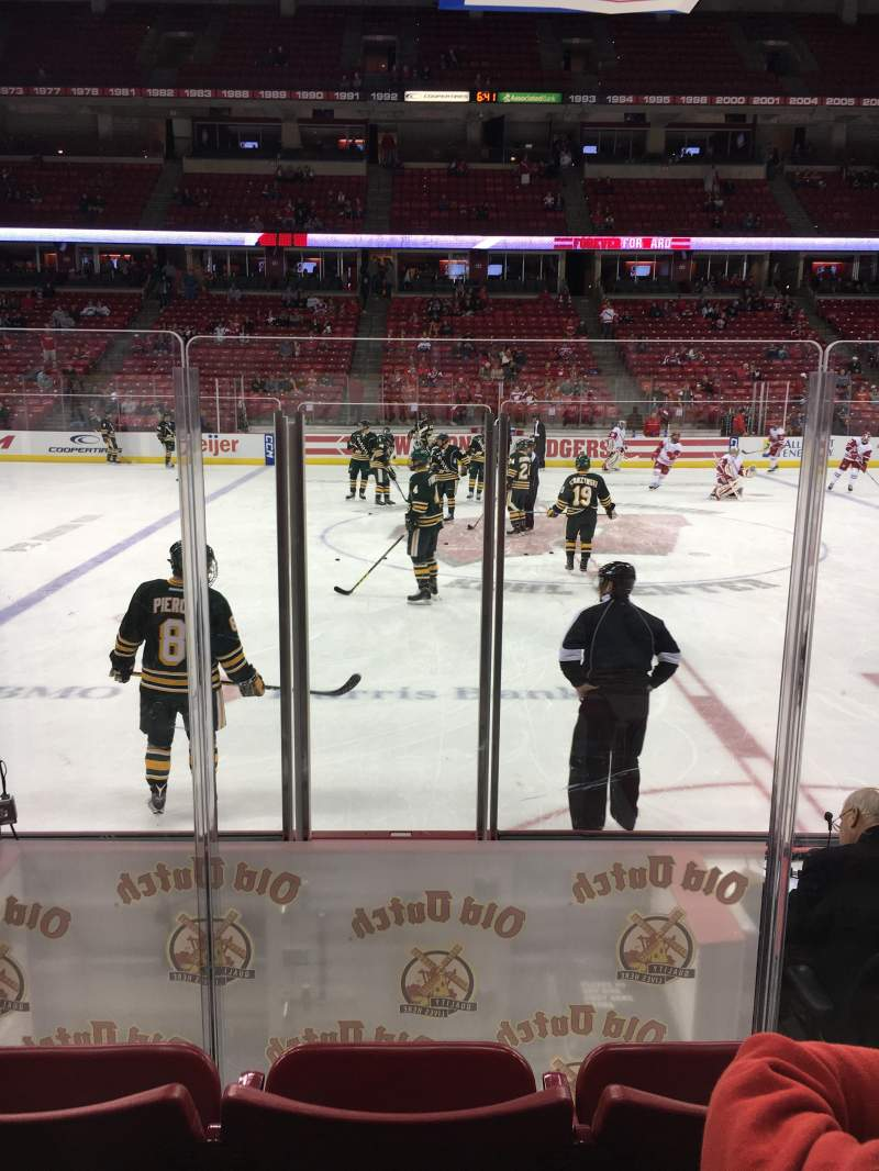 Seating view for Kohl Center Section 108 Row E Seat 15
