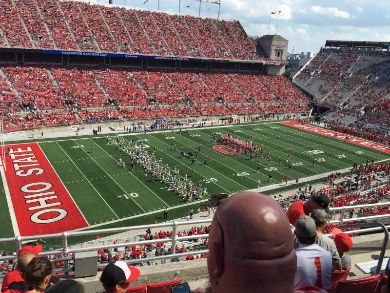 Seating view for Ohio Stadium Section 13C Row 6 Seat 25