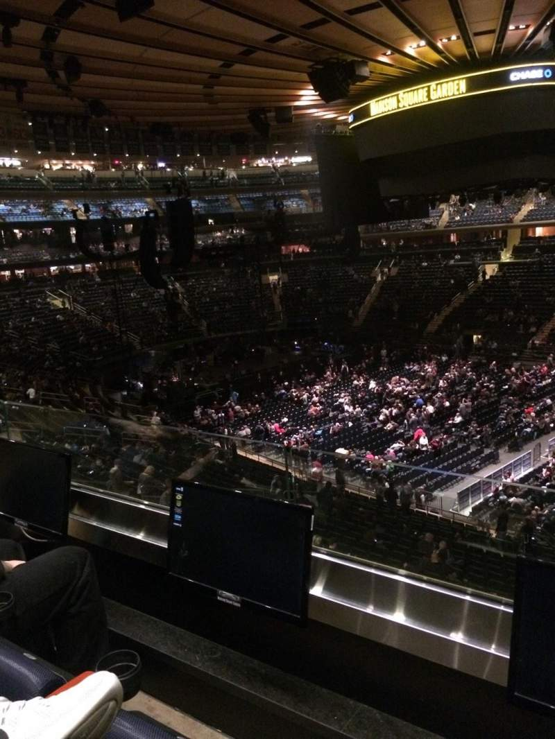 Madison Square Garden: Madison Square Garden, Section 226, Row 2, Seat 6