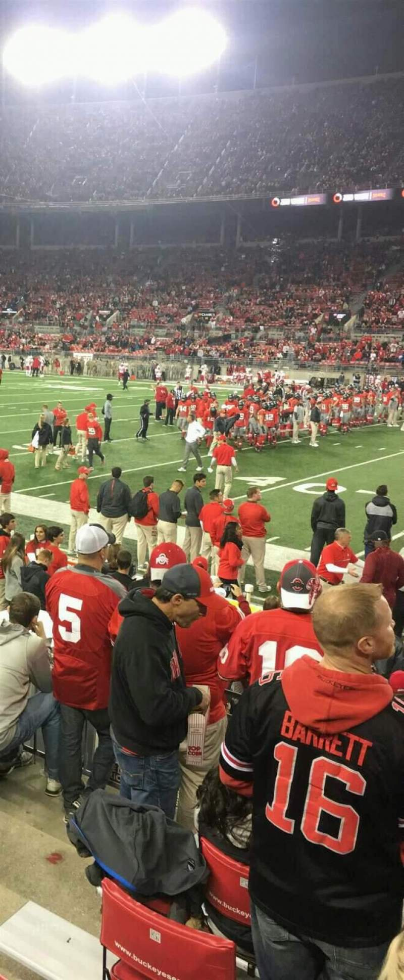 Seating view for Ohio Stadium Section 23 Row 7 Seat 6