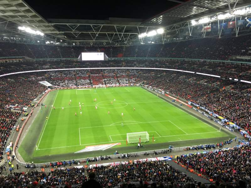 Wembley Stadium, section: 541, row: 4, seat: 54