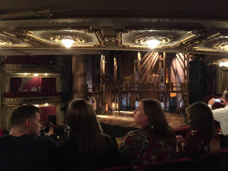 Seating view for CIBC Theatre Section Dress Circle R Row C Seat 6