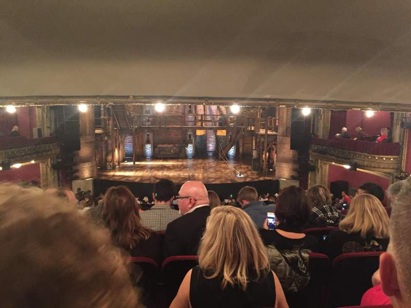 Seating view for CIBC Theatre Section Dress Circle C Row E Seat 207