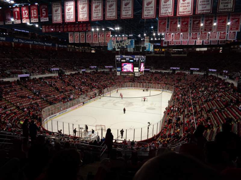 Seating view for Joe Louis Arena Section 213a Row 13 Seat 13