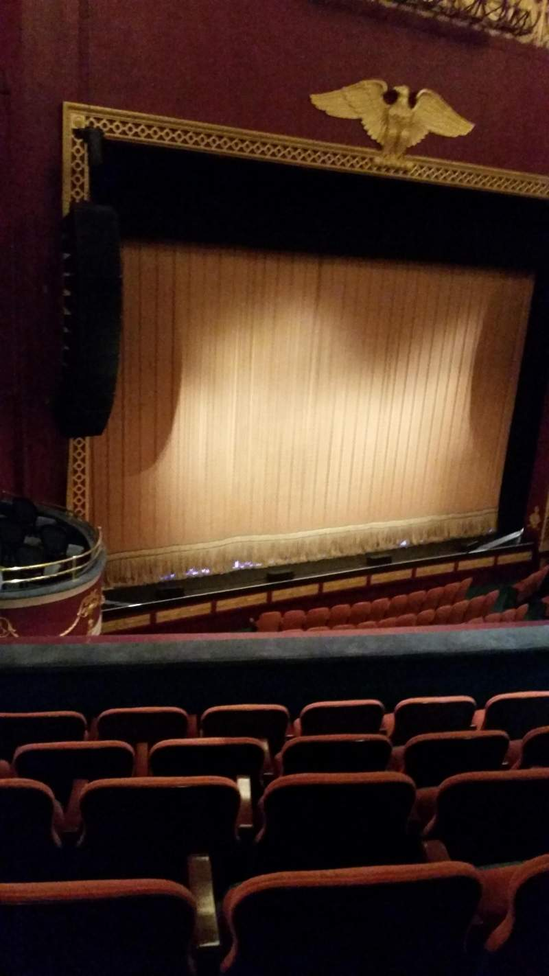 Seating view for National Theatre (DC) Section Mezzanine Row F Seat 25