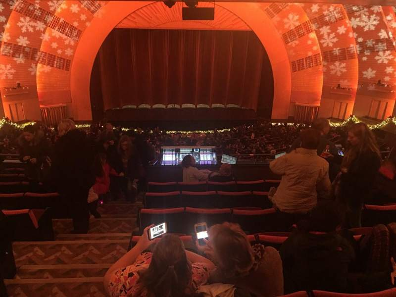 Seating view for Radio City Music Hall Section 2nd Mezzanine 4 Row J Seat 410