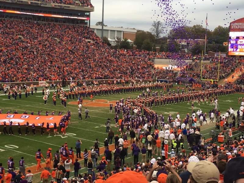 Seating view for Memorial Stadium, Clemson