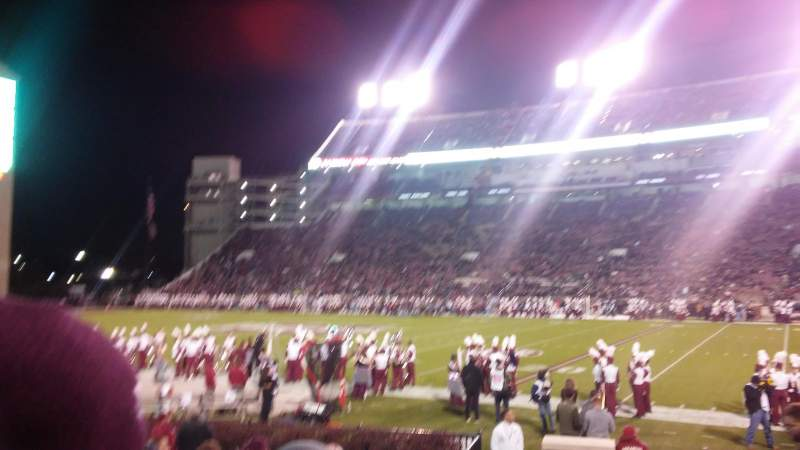 Seating view for Davis Wade Stadium Section 18 Row 11 Seat 8