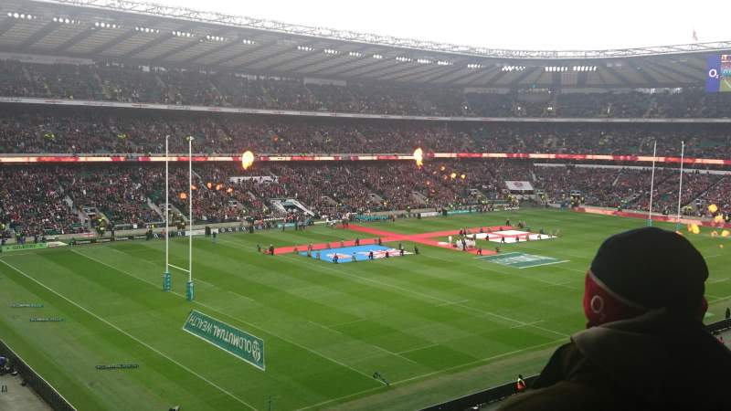 Seating view for Twickenham Stadium Section M40 Row 65 Seat 15