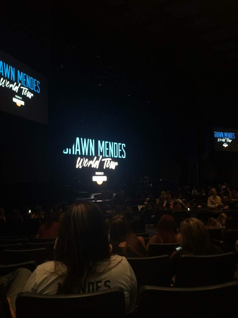 Seating view for Rosemont Theatre Section 112 Row R Seat 3