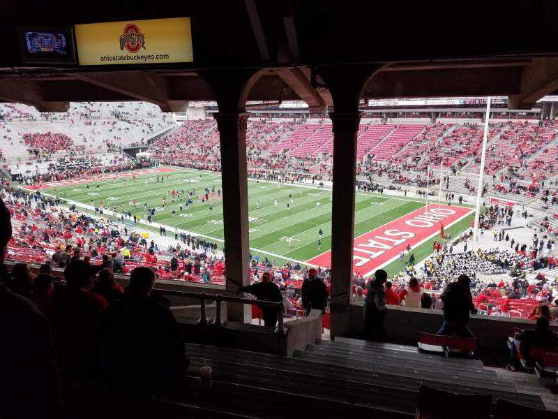Seating view for Ohio Stadium Section 10B Row 12 Seat 21