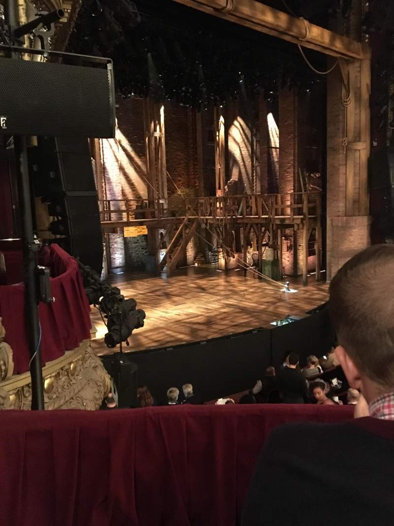 Seating view for CIBC Theatre Section Dress Circle Box 1 Row A Seat 209