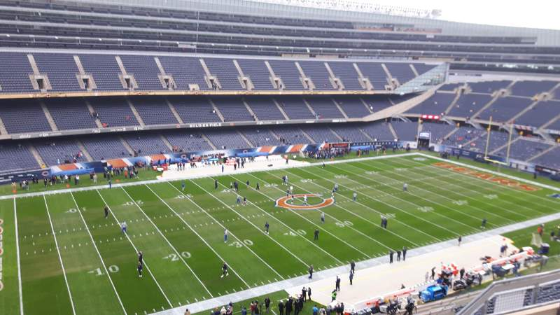 Seating view for Soldier Field Section 441 Row 5 Seat 7