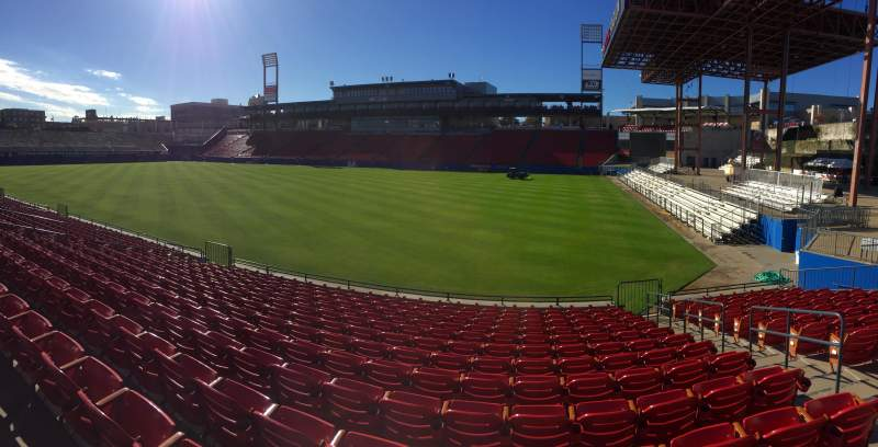 Seating view for Toyota Stadium Section 131 Row 13 Seat 4