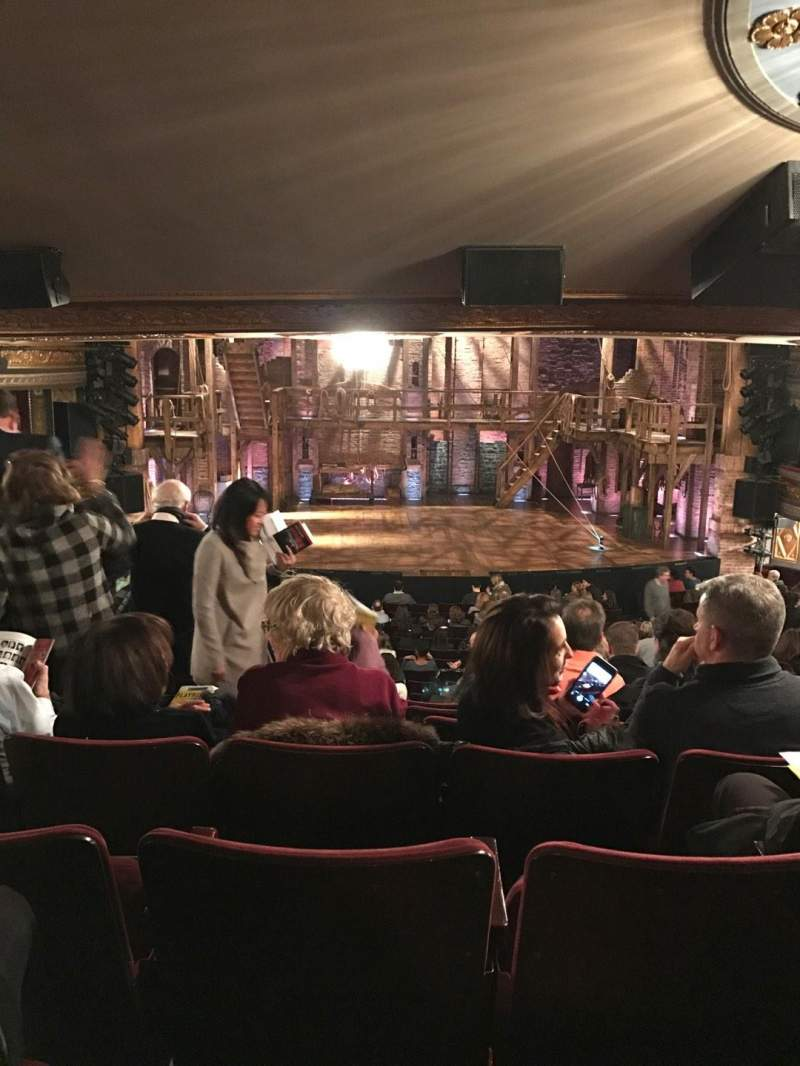 Seating view for Richard Rodgers Theatre Section Orch Row V Seat 111