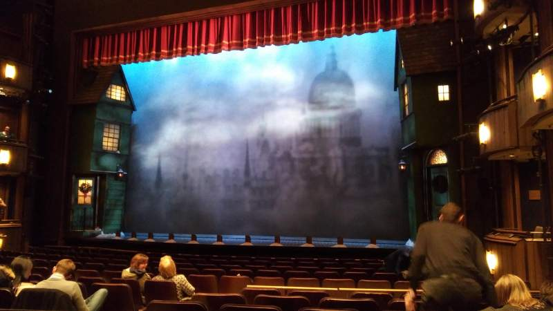 Seating view for Goodman Theatre Section Aisle 2 Row M Seat 8