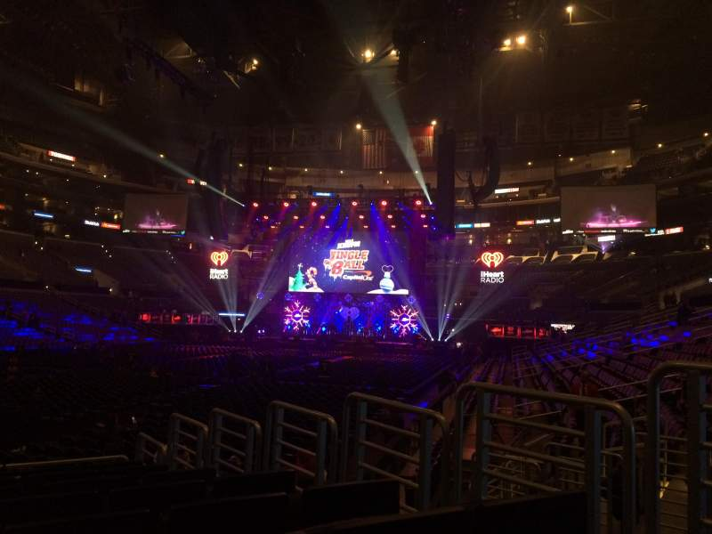 Seating view for Staples Center Section 105 Row 10 Seat 4