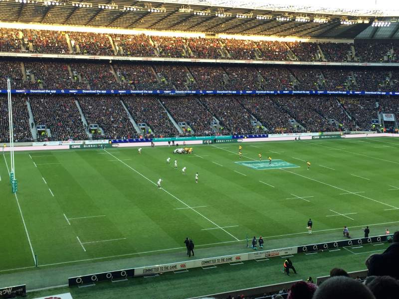 Seating view for Twickenham Stadium Section M11 Row 68