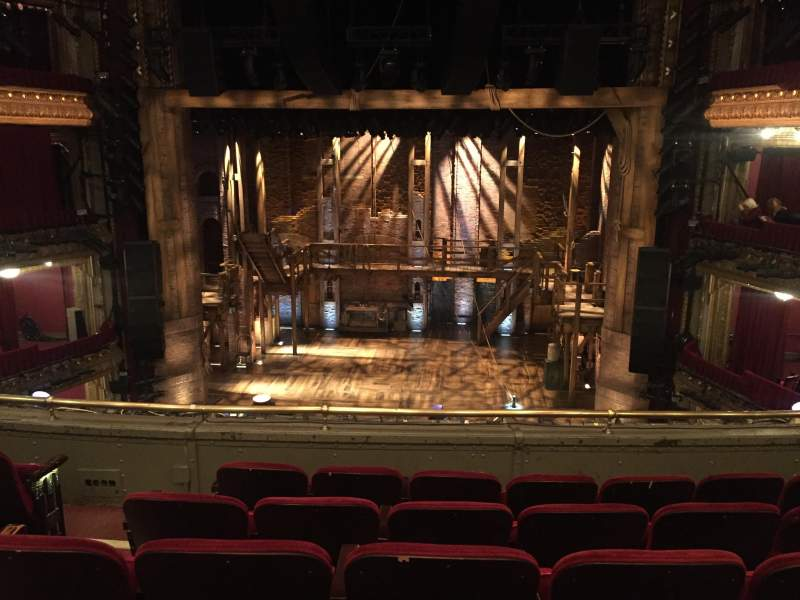 Seating view for CIBC Theatre