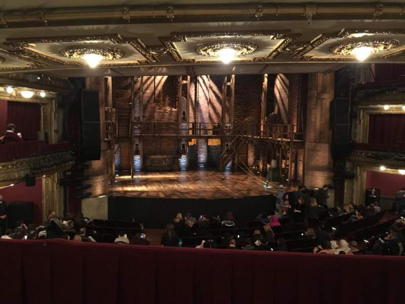 Seating view for CIBC Theatre Section Dress Circle LC Row B Seat 223