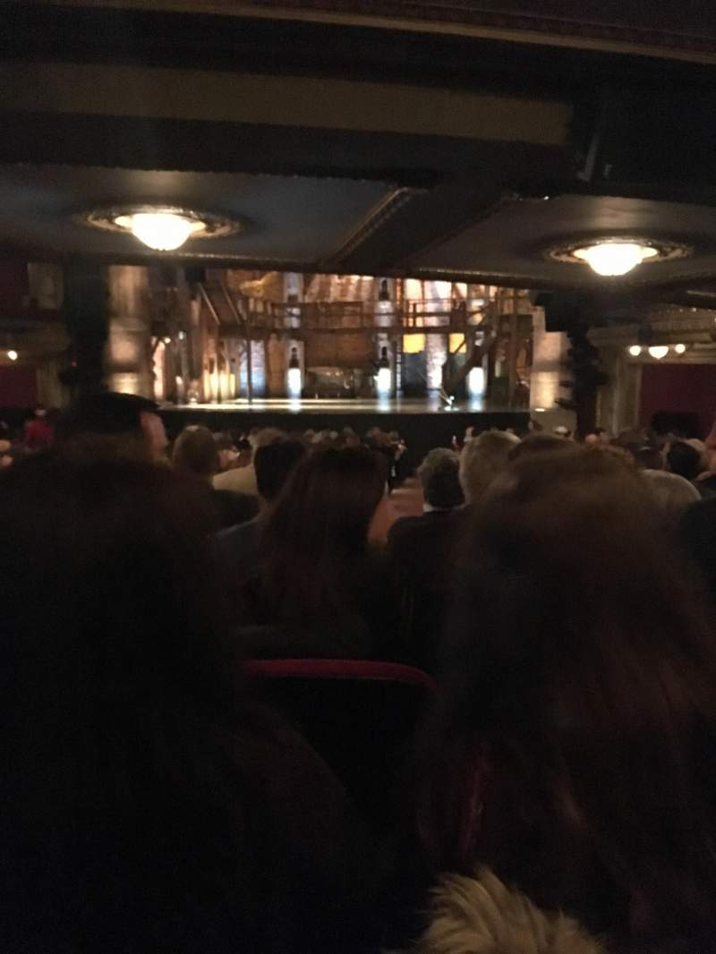 Seating view for CIBC Theatre Section Orchestra C Row Z Seat 120