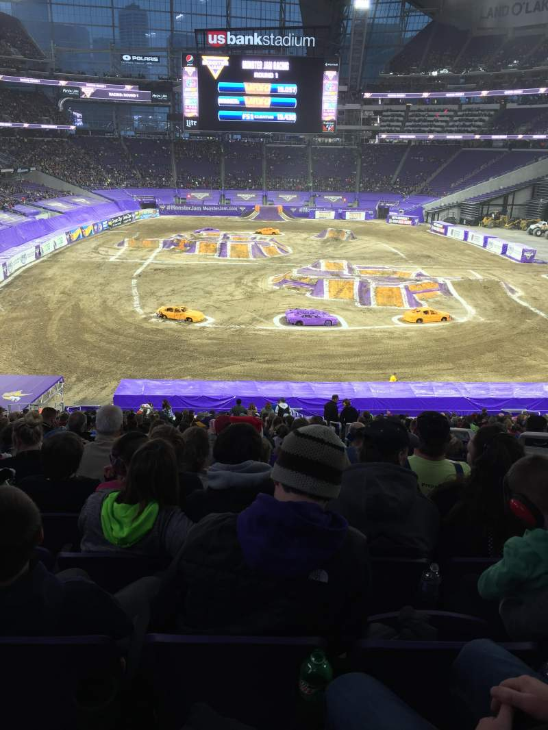 Seating view for U.S. Bank Stadium Section 120 Row 39 Seat 3