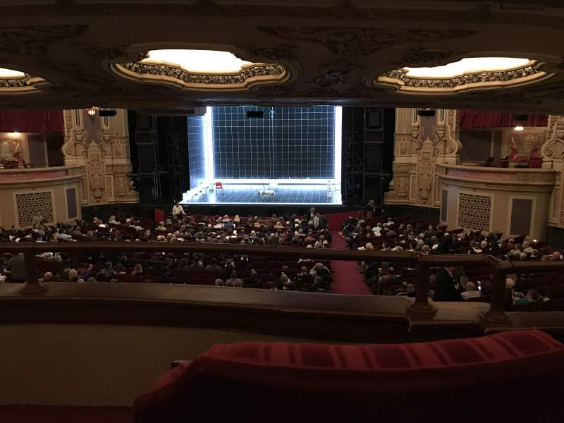 Seating view for James M. Nederlander Theatre Section Dress Circle RC Row B Seat 220