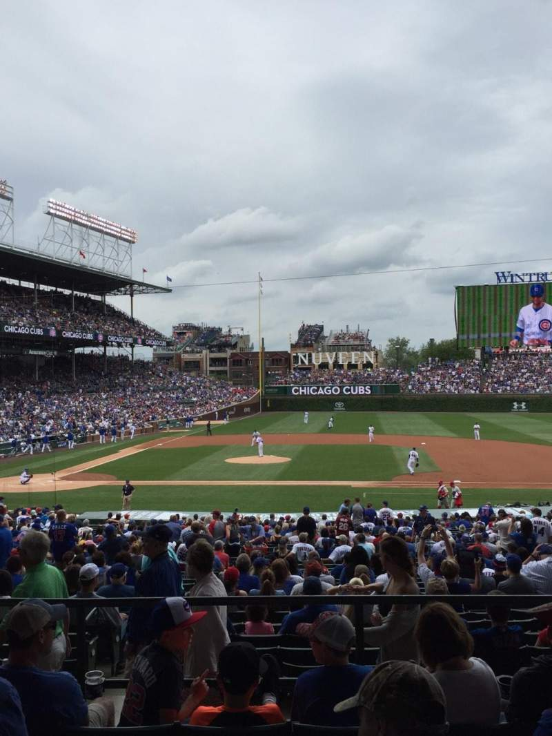 Seating view for Wrigley Field Section 229 Row 5 Seat 109
