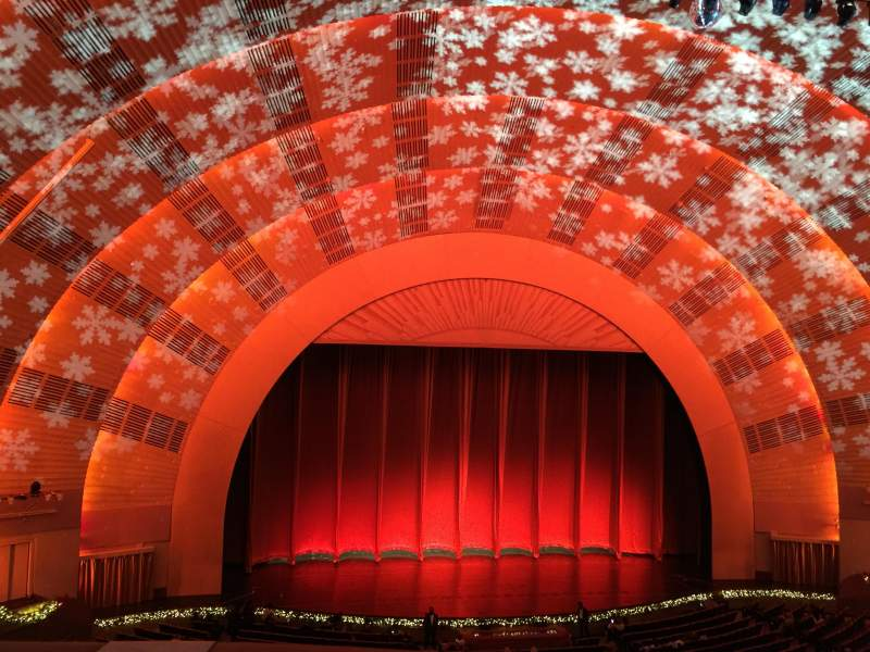Seating view for Radio City Music Hall Section 2nd Mezzanine 5 Row A Seat 510