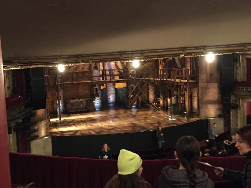 Seating view for CIBC Theatre Section Dress Circle LC Row E Seat 235-237