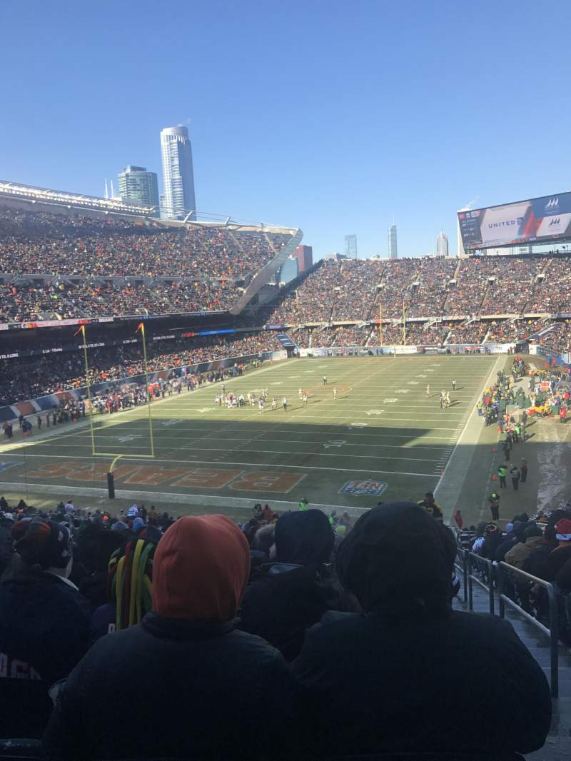 Seating view for Soldier Field Section 220 Row 19 Seat 24