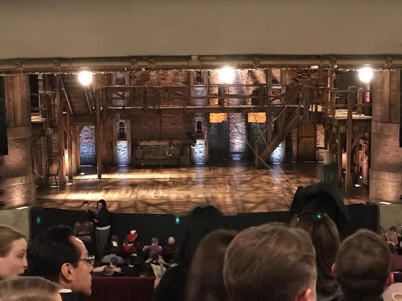 Seating view for CIBC Theatre Section Dress Circle C Row E Seat 205