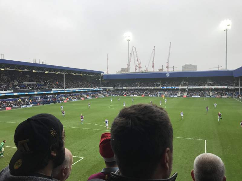 Seating view for Loftus Road Section Y6 Row C Seat 85